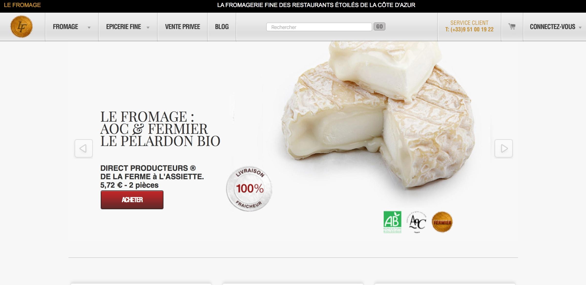 lefromage.fr  vente de fromages